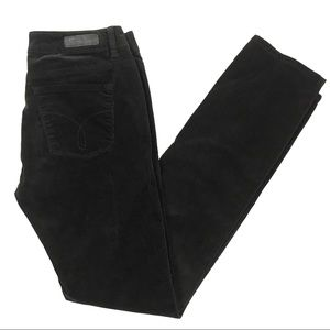 Calvin Klein Ultimate Skinny Black Cords Size 29/8